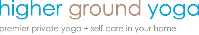 higher ground yoga | premier private yoga + self-care in your home #thebabyshower