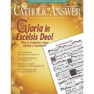subscription to catholic answers magazine