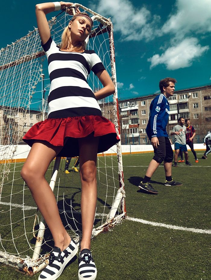 Good Sport! 10 Times Fashion Made Athletic Wear Chic |  Lys Inger by Igor Oussenko for Stolnick (2014)