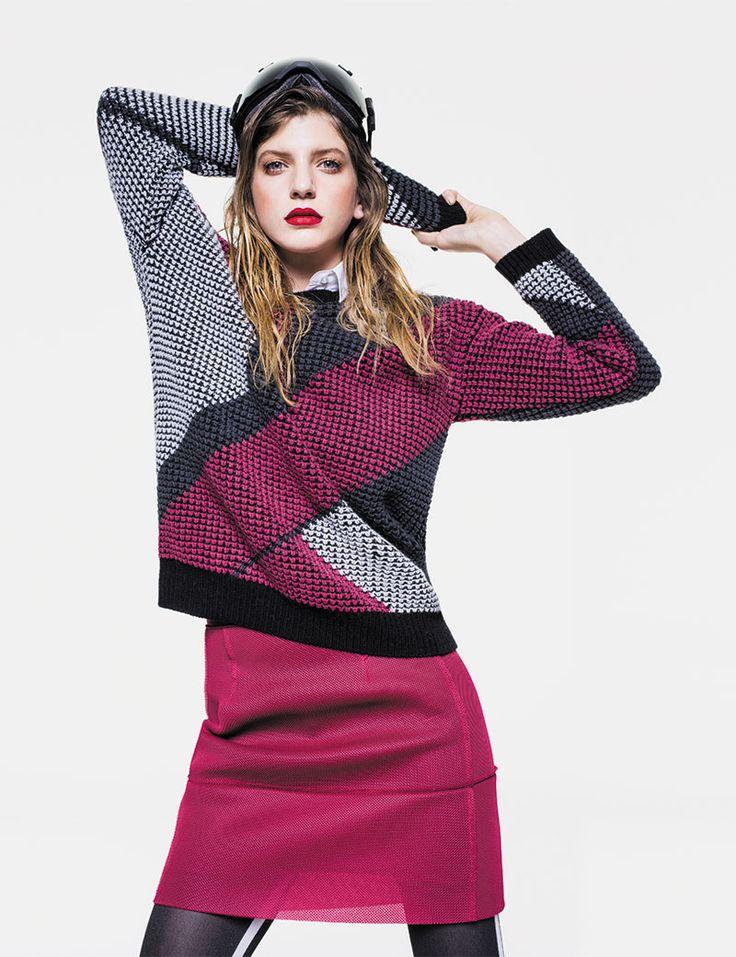 Sisley Autumn Winter 2014 Sweatshirt Galore