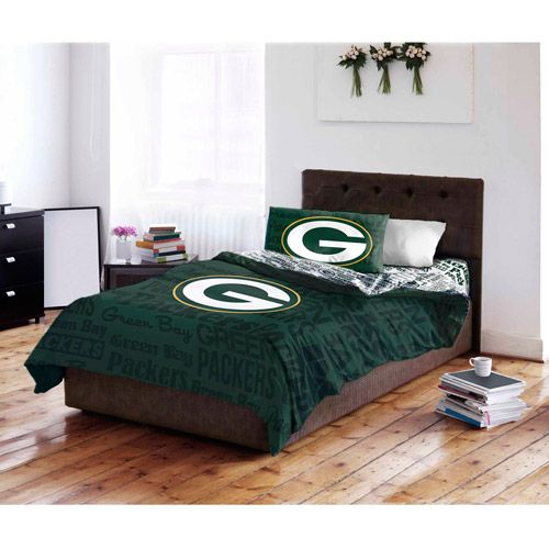 NFL Green Bay Packers Bedding Set: Sports Fan Shop : Walmart.com