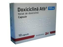 Doxiciclina este indicata in infectii produse de microorganisme sensibile: http://www.medpont.ro/medicamente/doxicilina-prospect/