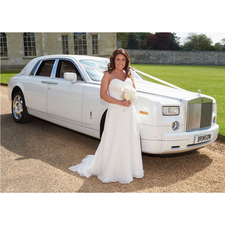 White rolls Royce next to our lovely bride, in Ivory silk chiffon and beaded corded lace #lesleycutlerbridal #luxury #custommade #weddingdress #weddinggown #weddingdressdetails #bride #weddingdress #weddedbliss