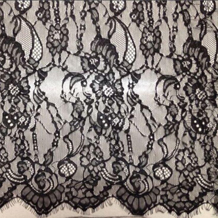 135 cm wide splendida nero francese chantilly double ciglia edge tessuto del merletto 3 yards / pc in 135 cm wide splendida nero francese chantilly double ciglia edge tessuto del merletto 3 yards / pc  elegante pizzoda Laccio su AliExpress.com | Gruppo Alibaba