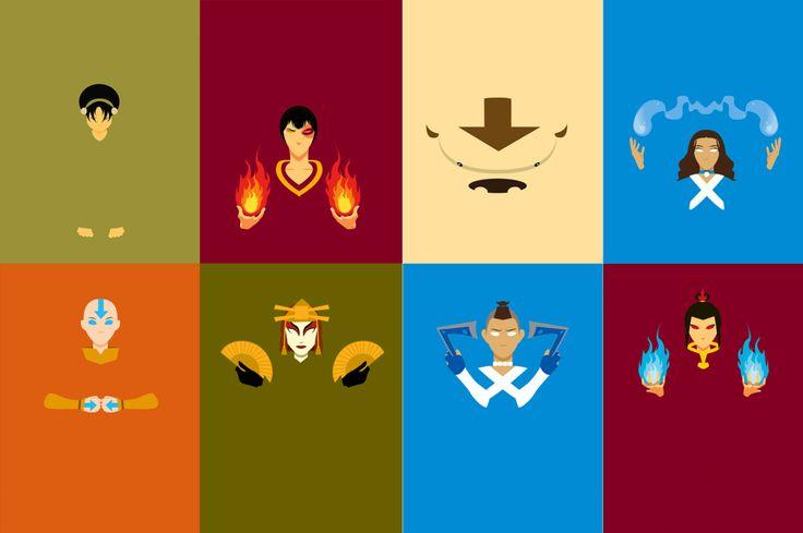 Avatar: the last airbender minimalist wallpaper