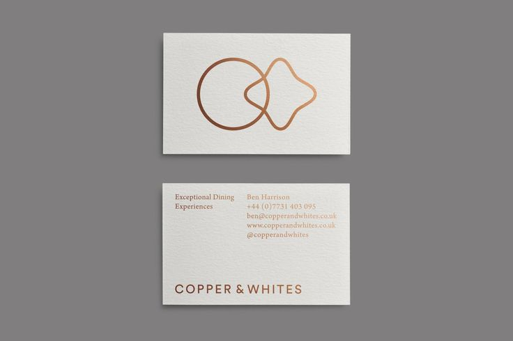 336 best id business cards images on pinterest graphics a private catering service offering high end and bespoke dining experiences the project included naming and creating the identity for the new company reheart Images