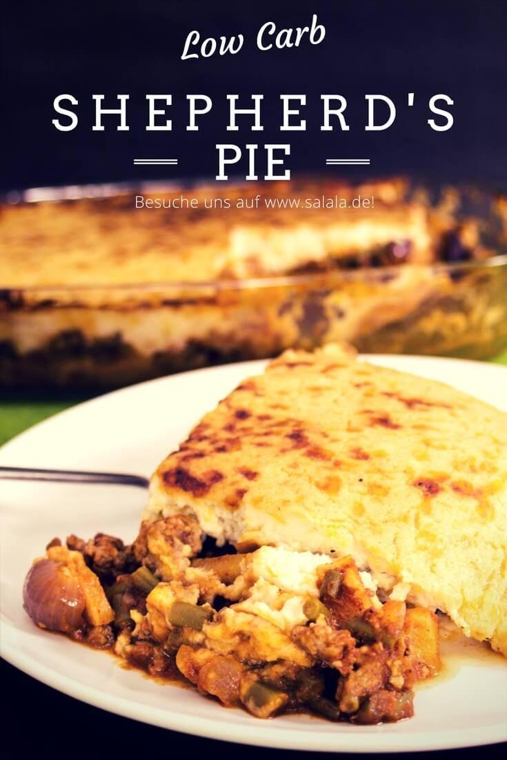 Shepherds Pie zum St. Patricks Day! Eine echte irische Spezialität und ein falscher Low Carb Kartoffelbrei, der sich gewaschen hat :)