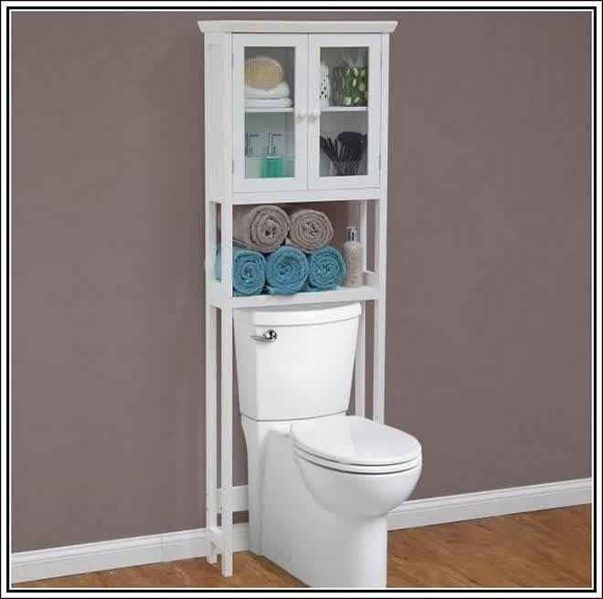 Verschonern Sie Das Badezimmer Durch Das Einrichten Der Lowes Badezimmer Schranke Wc Lagerung Schrank Uber Der Toilette Wc Regal