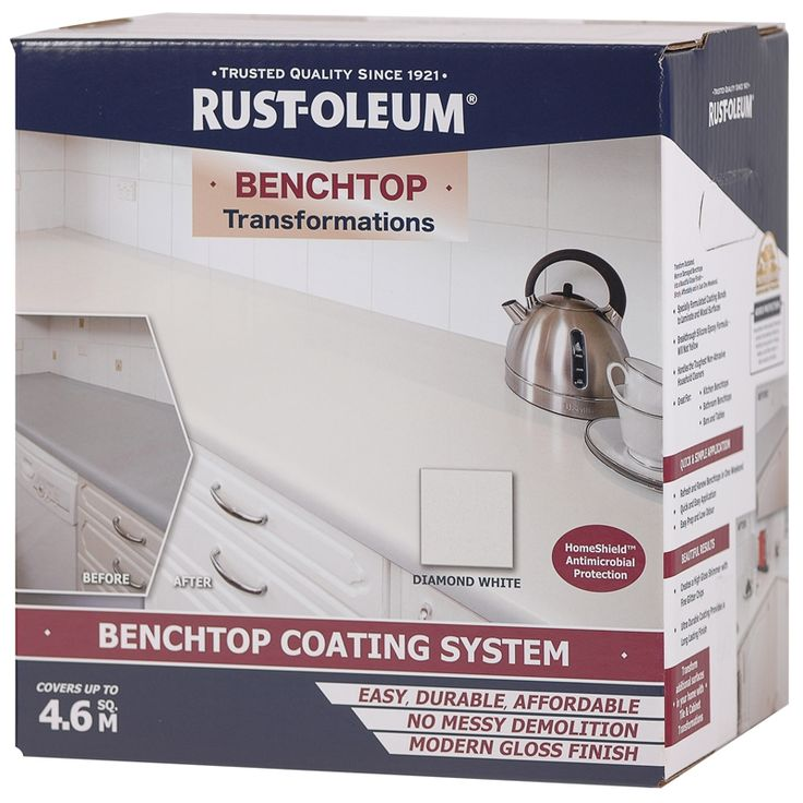Find Rust-Oleum Diamond White Benchtop Transformation Kit at Bunnings Warehouse. Visit your local store for the widest range of paint & decorating products.