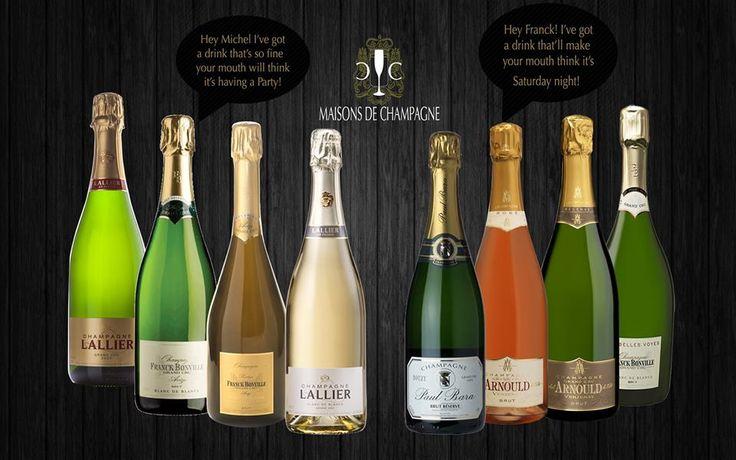 Available @Maisons de Champagne