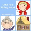Little Red Riding Hood Fairy Tale — Pre-K Pages