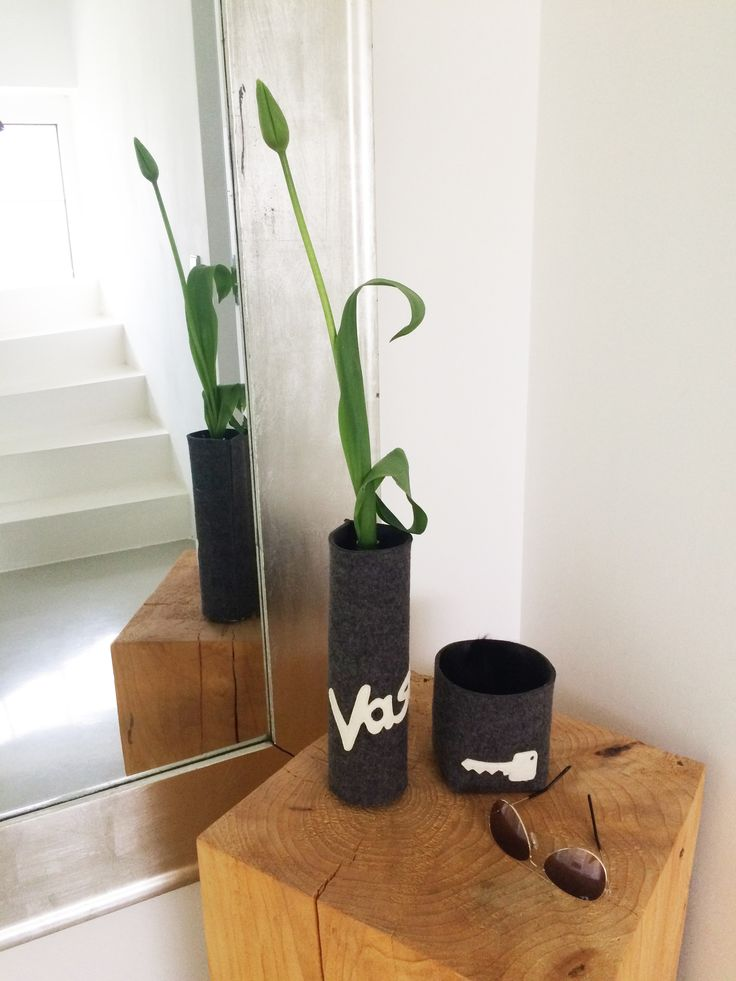 Vasenhusse und Schlüsselbox