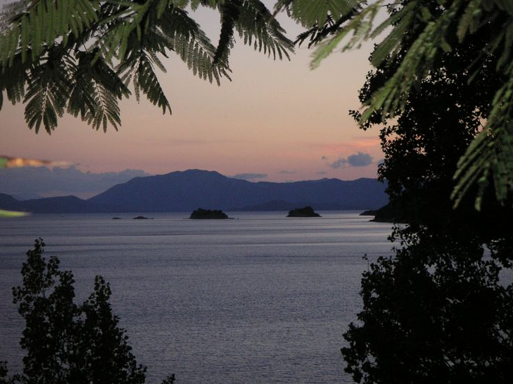 Pogonia evening view over the islands.