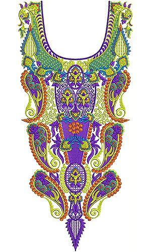 Dubai Fashion Embroidery Design | Gulf Designer