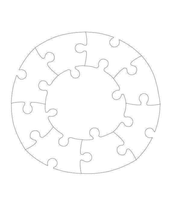 31 best Classroom doors images on Pinterest Puzzle pieces - puzzle piece template