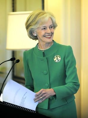 Quentin Bryce in Green