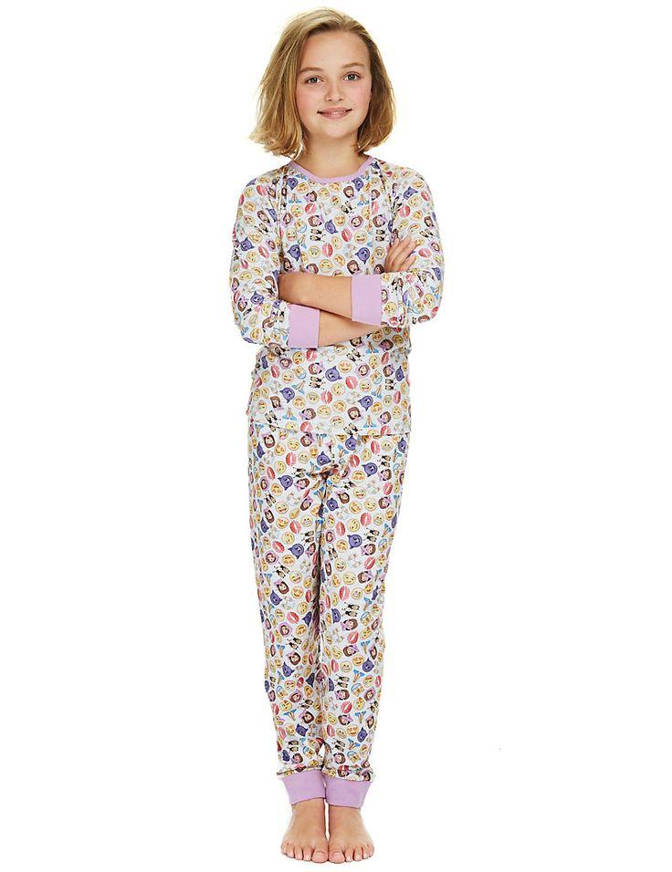 Stay Soft Emoji Pyjamas (6-16 Years)