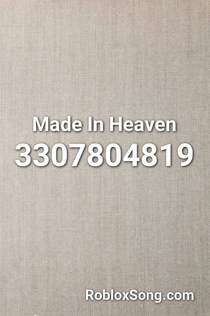 Heaven Roblox Pin On Roblox Music Codes