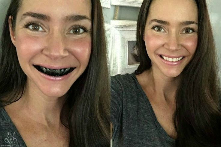 Here's the easiest way to whiten your teeth naturally with activated charcoal, even when your schedule is super busy.
