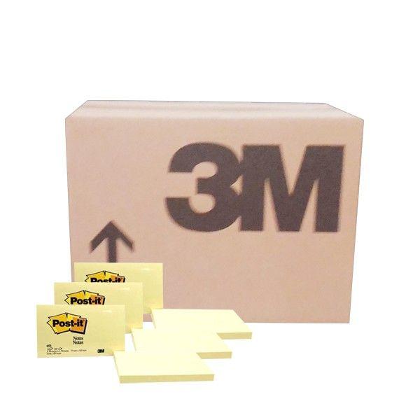 """Post-it Canary Yellow 655 (grosir) - Kertas Memo Tempel Merk 3M di Jual Online  3"""" X 5"""" Post-it Canary Yellow 100 sheets/pad     (48 pads/ctn) - Harga per ctn  http://tigaem.com/post-it/942-post-it-canary-yellow-655-grosir-kertas-memo-tempel-merk-3m-di-jual-online.html  #postit #notes #memo #3M"""