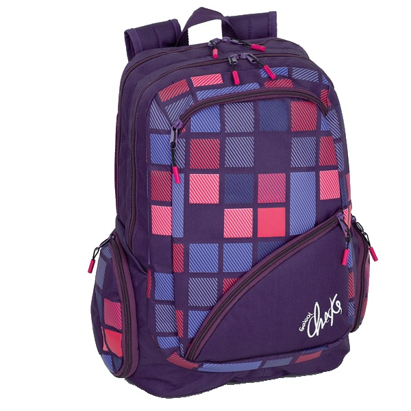 Back to School :: Gabol Checks Multi Backpack - Harlequin School Bags – Australia's #1 for Personalised Bags |Back to School | #backtoschool #kidsstuff #school