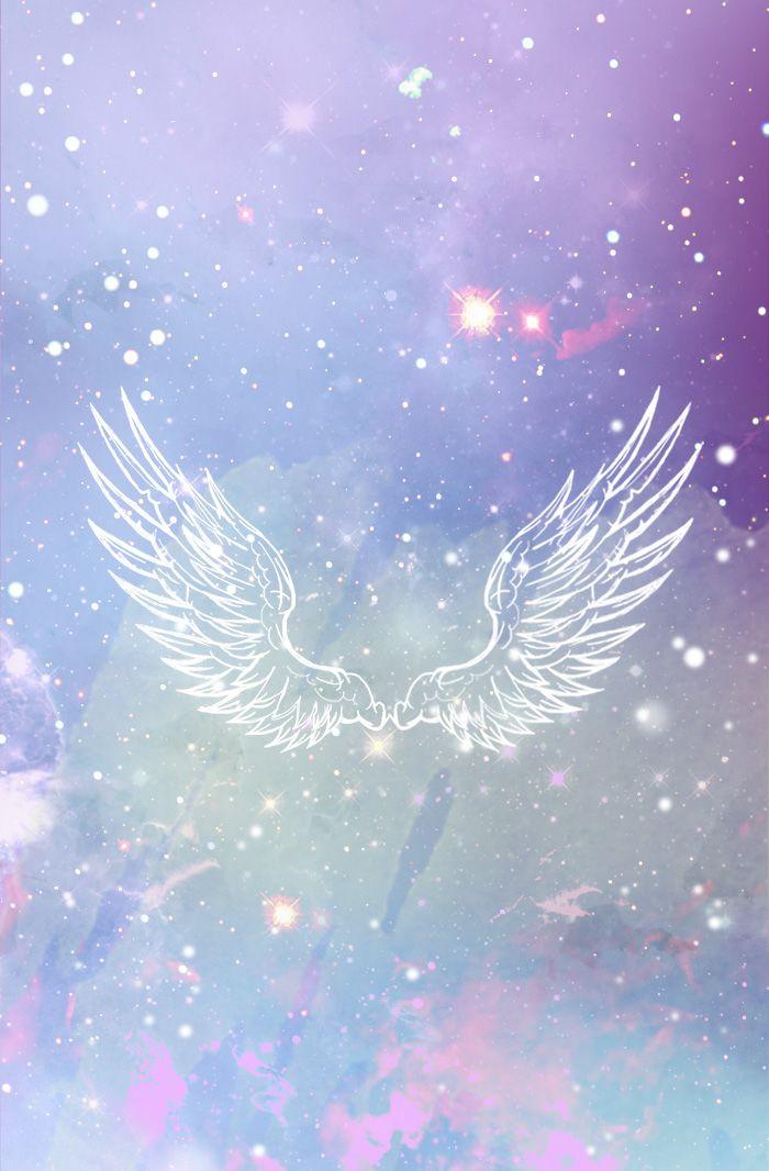 glowing wings Angel wallpaper, Wings wallpaper, Angel