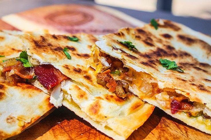 Blackstone New Mexico Breakfast Quesadillas Recipe for Flat Top Griddles