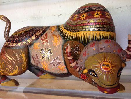 Alebrijes de Oaxaca son animales imaginarias de madera