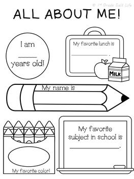 Back to School review for 2nd Grade by 1st Grade Salt Life