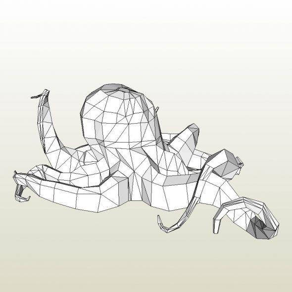 Animal Pepakura Viewer/Designer foam pdo files.