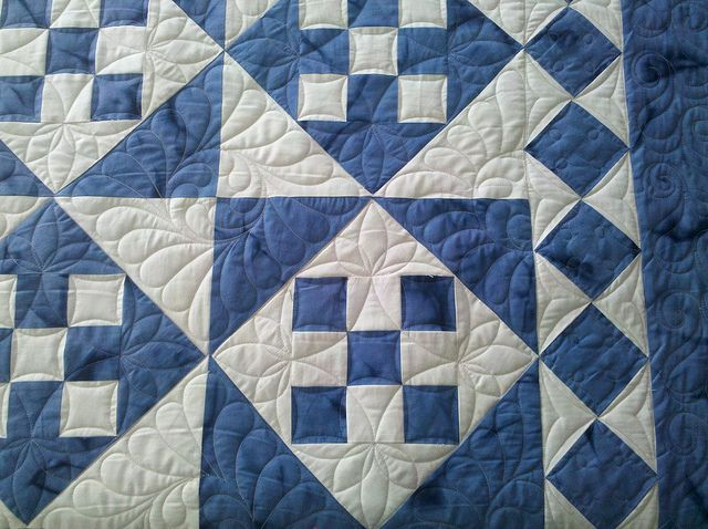 9-Patch by Jessica's Quilting Studio, via Flickr
