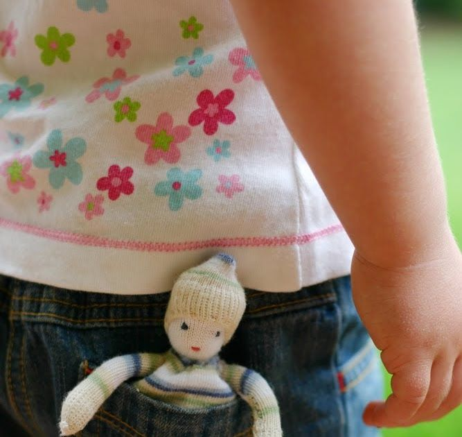 Odd Sock Pocket Doll Tutorial   I'm sure there is a sock monster living under one of the beds in our house. It only takes one of a pair o...