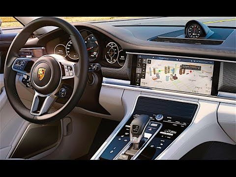 New Porsche Panamera 2017 INTERIOR Porsche Panamera Turbo INTERIOR 2017 CARJAM TV - YouTube