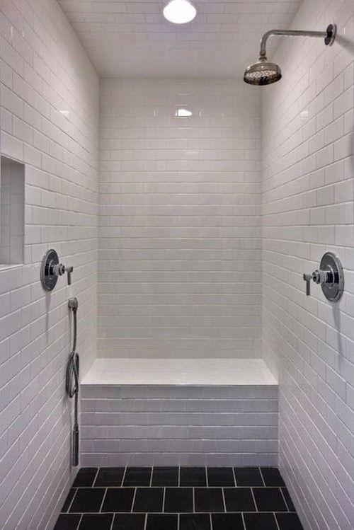 1000 id es sur le th me carreaux de m tro noirs sur for Nettoyage carrelage salle de bain
