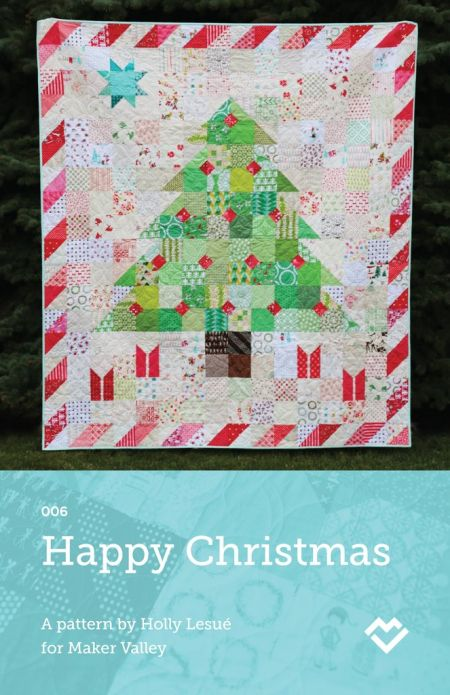 happy christmas quilt pattern by maker valley bought this