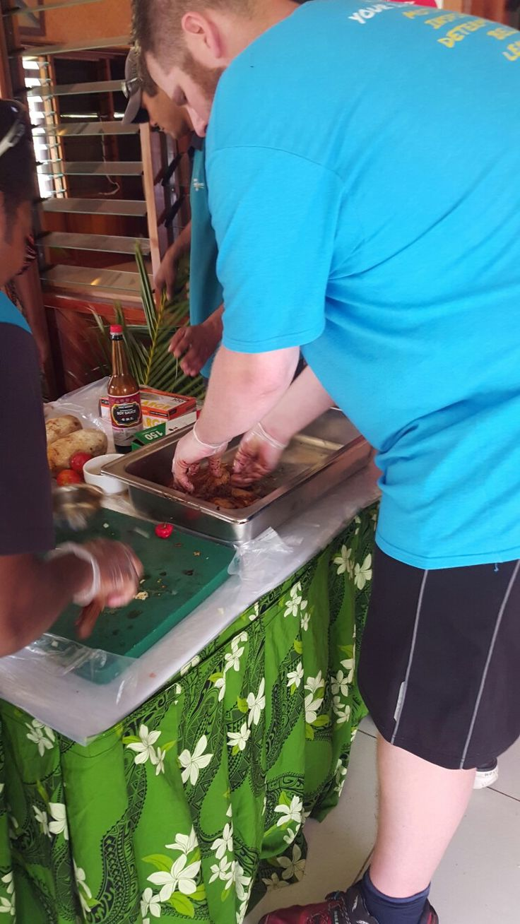 Be Part Of A Fijian Cooking Class