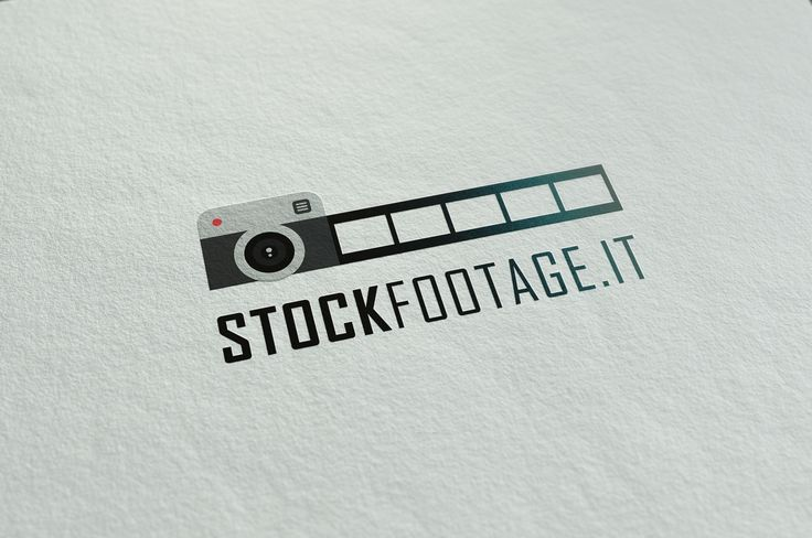 Flat design logo made by me for http://stockfootage.it/, an italian photography blog