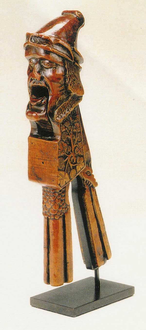 Boxwood nutcracker, probably French and dates from the early 16th century