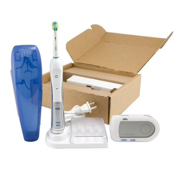 Oral-B Professional Healthy Clean + Floss Action Precision 5000  The Oral-B Professional Healthy Clean + Floss Action Precision 5000 Rechargeable Electric Toothbrush comes with unique floss action bristles which clean deep in between teeth. It also has 5 cleaning modes (daily clean, deep clean, sensitive, massage and whitening) to choose from for superior teeth cleaning.