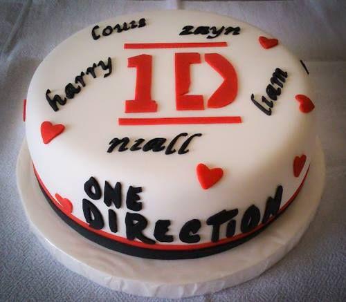 Torta One Direction