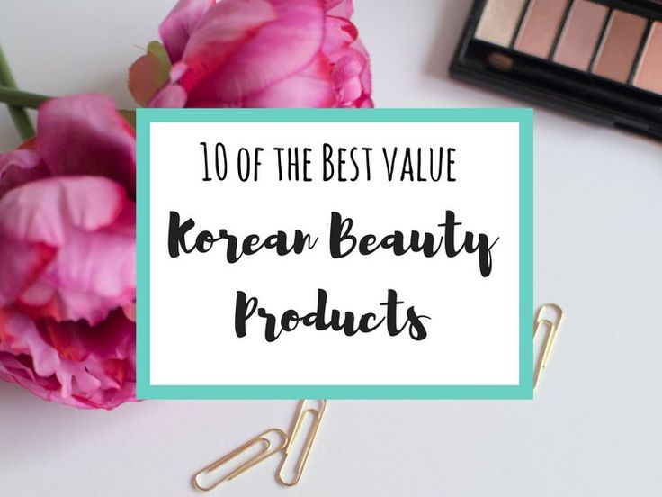 10 of the Best Value Korean Beauty Products :http://www.weegypsygirl.com/10-korean-beauty-products/