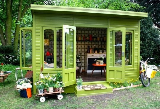 Artists Garden Retreat. Want.