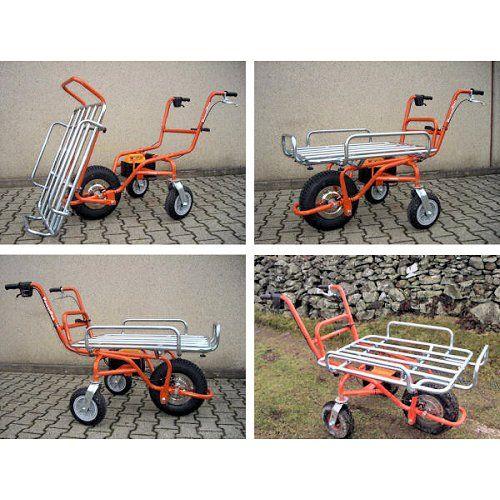 Electric wheelbarrow flatbed carrier to transform your wheelbarrow into a multifunctional carrier. http://www.fresh-group.com/electric-wheelbarrow.html