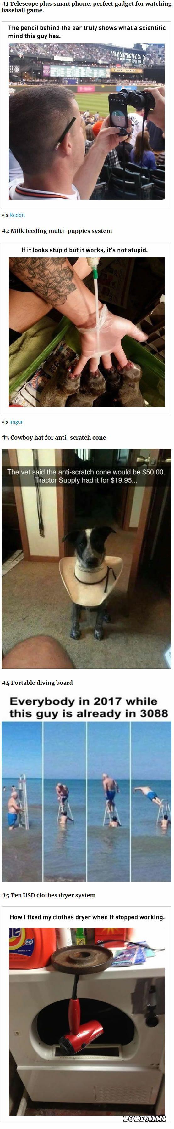 Not so stupid ideas || Funny || Memes