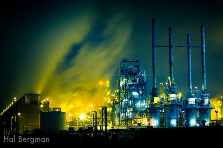Industrial Photography: Oil Refinery in Wilmington, California