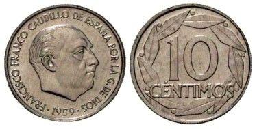 10 céntimos de Franco