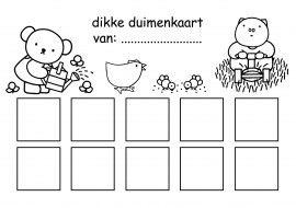 Dikke duimenkaart - Beloningskaart 7 - Dick Bruna