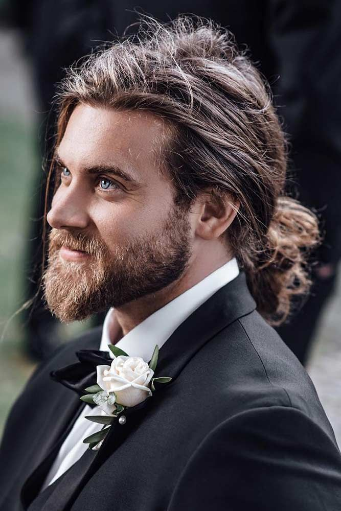How To Get Style And Sport The On Trend Man Bun Hairstyle Guys