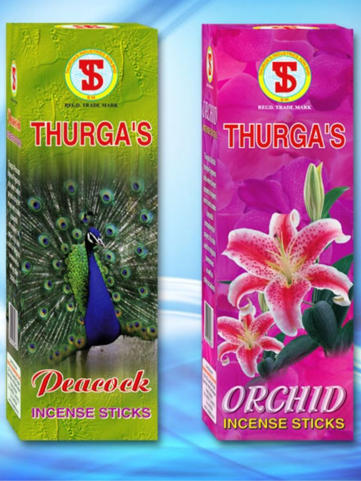THURGA's Peacock & Orchid Incense $3 packet available at Qincense.com.au