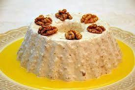 Receita de Mousse de Nozes. Receitas deliciosas e muito mais você encontra em Saborosa Receita, seu site de culinária.